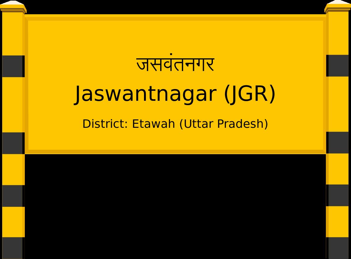 Jaswantnagar (JGR) Railway Station
