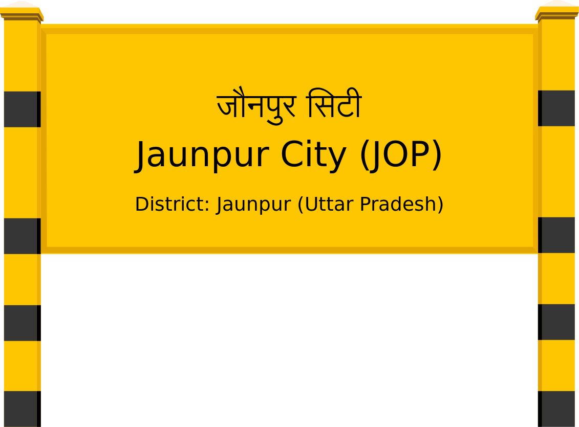 Jaunpur City (JOP) Railway Station