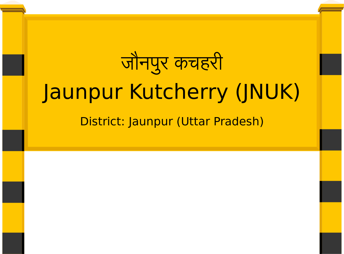 Jaunpur Kutcherry (JNUK) Railway Station