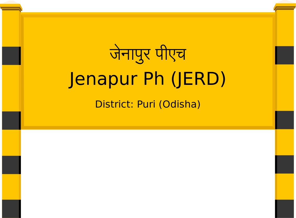 Jenapur Ph (JERD) Railway Station