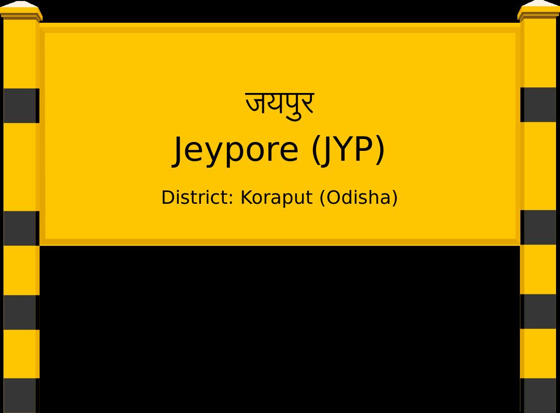 Jeypore (JYP) Railway Station