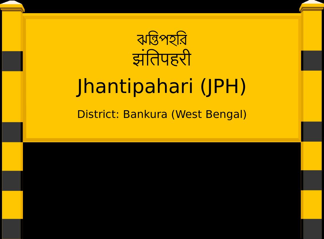 Jhantipahari (JPH) Railway Station