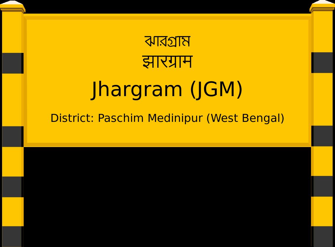 Jhargram (JGM) Railway Station