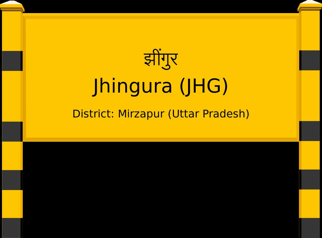Jhingura (JHG) Railway Station