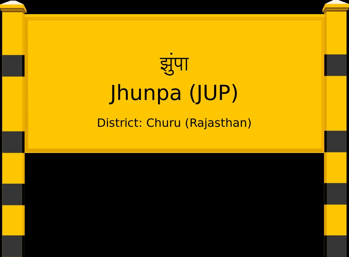 Jhunpa (JUP) Railway Station