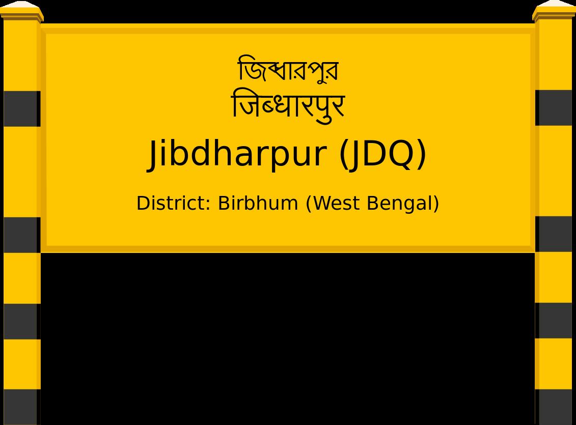 Jibdharpur (JDQ) Railway Station