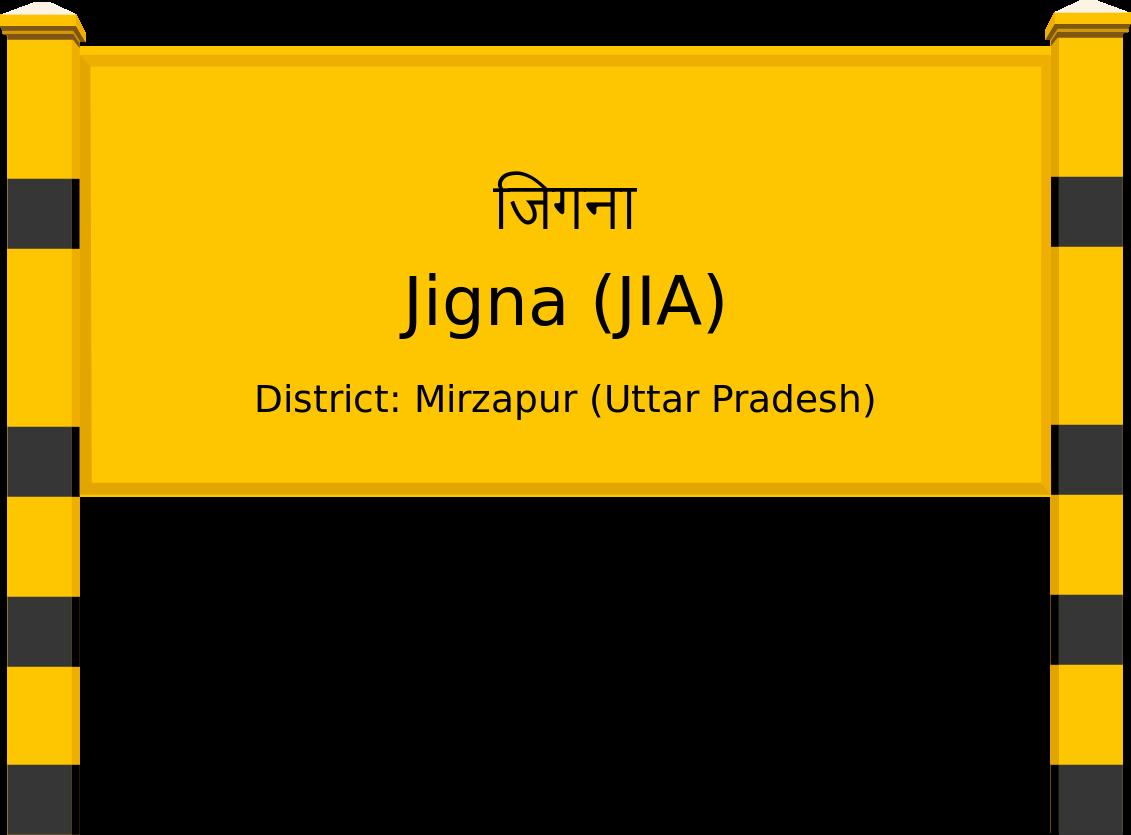 Jigna (JIA) Railway Station