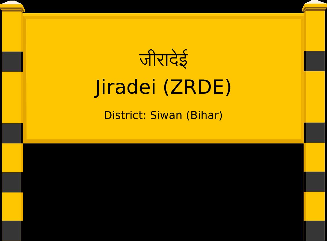 Jiradei (ZRDE) Railway Station