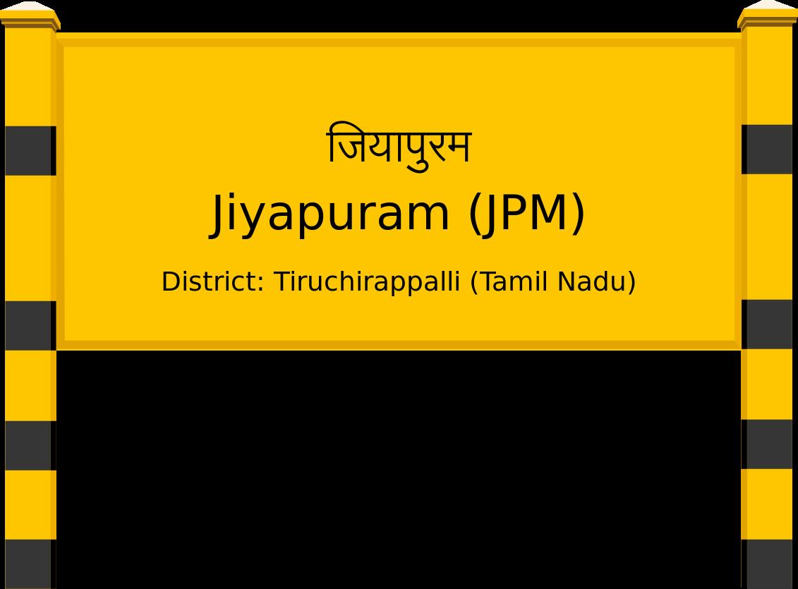 Jiyapuram (JPM) Railway Station