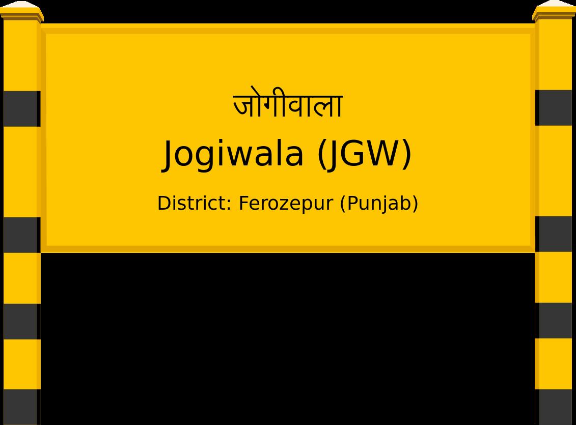 Jogiwala (JGW) Railway Station