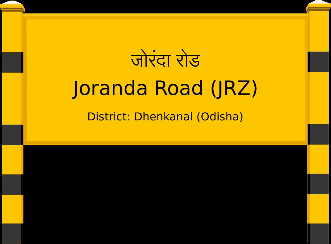 Joranda Road (JRZ) Railway Station