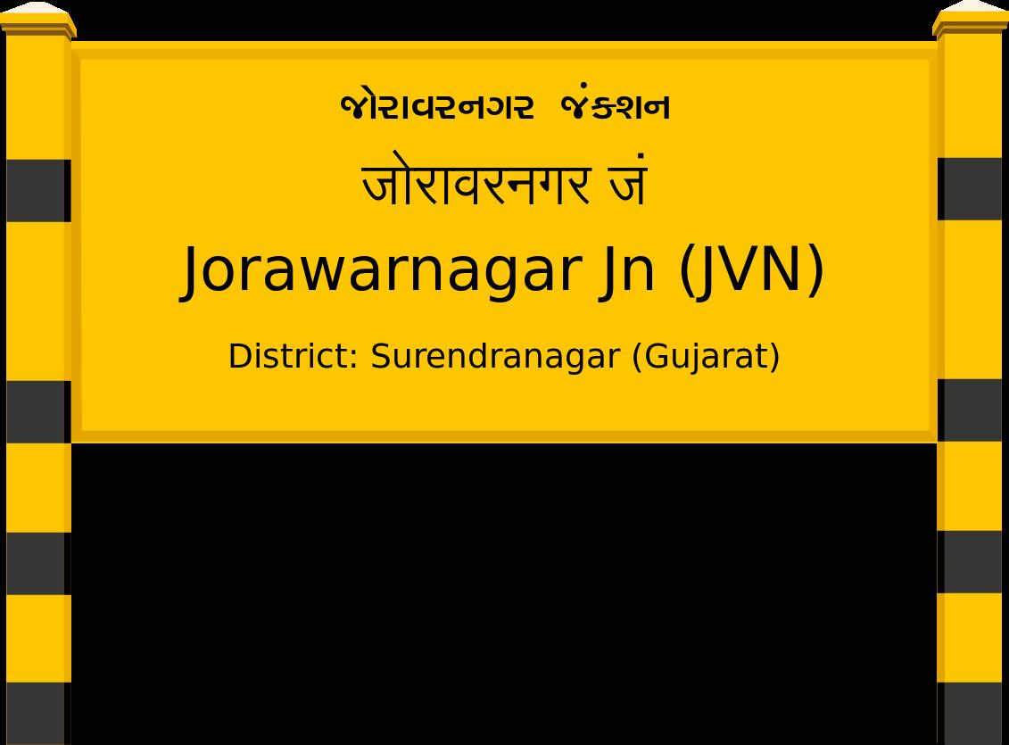 Jorawarnagar Jn (JVN) Railway Station