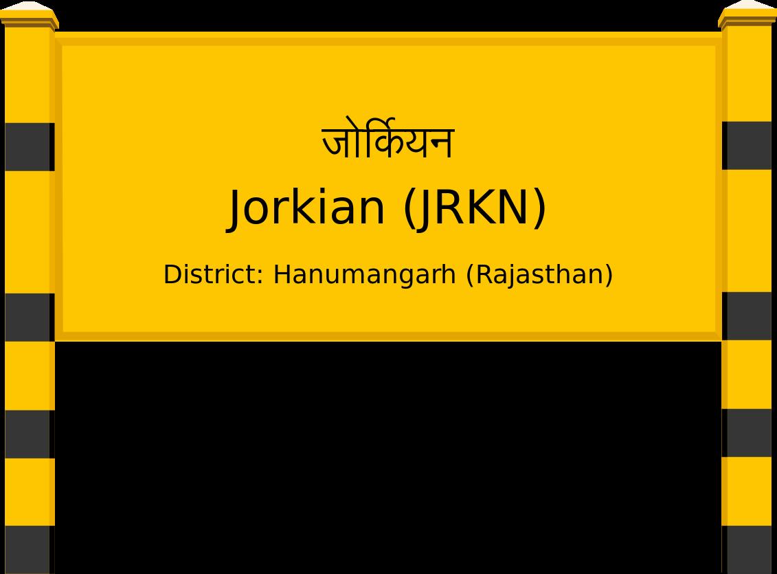 Jorkian (JRKN) Railway Station