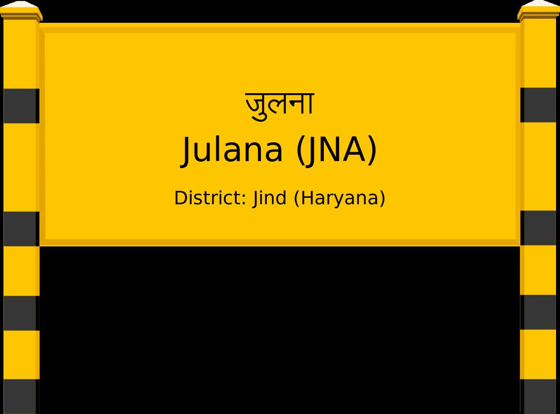 Julana (JNA) Railway Station