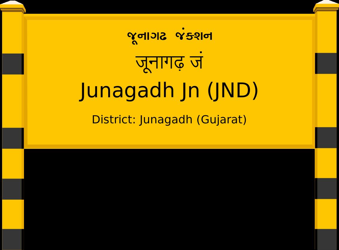 Junagadh Jn (JND) Railway Station