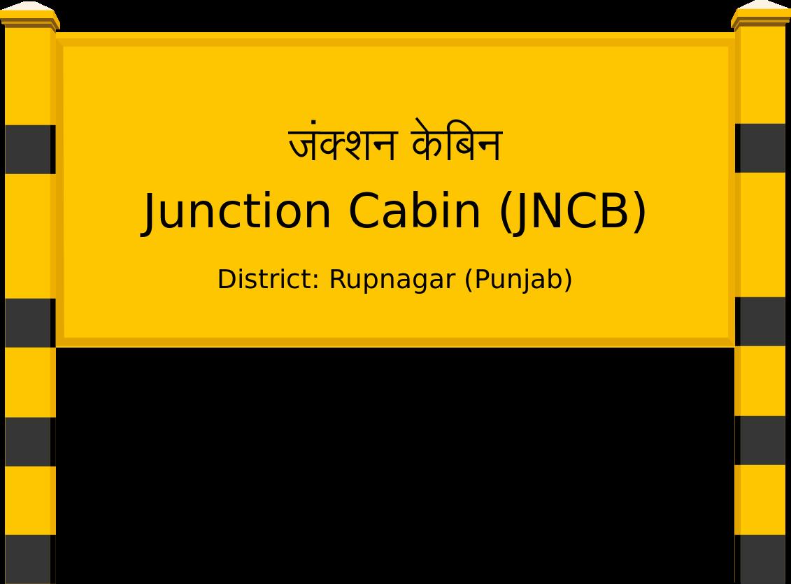 Junction Cabin (JNCB) Railway Station
