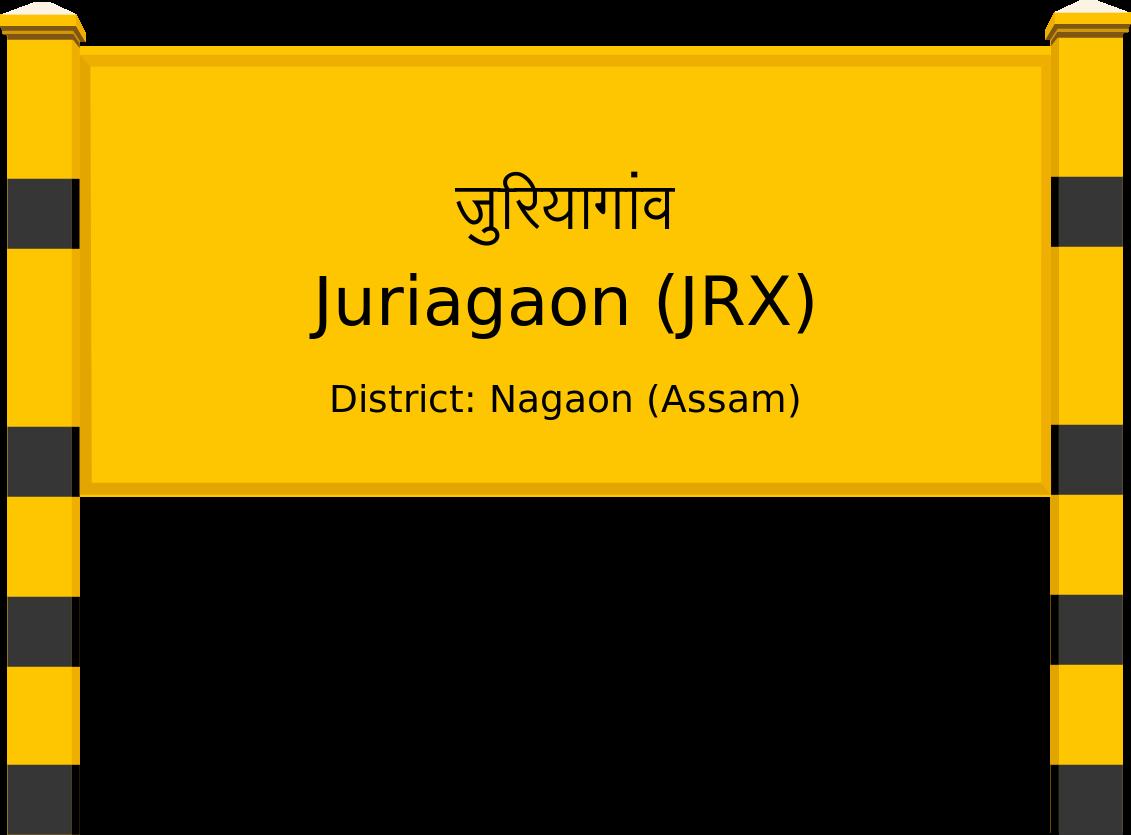 Juriagaon (JRX) Railway Station