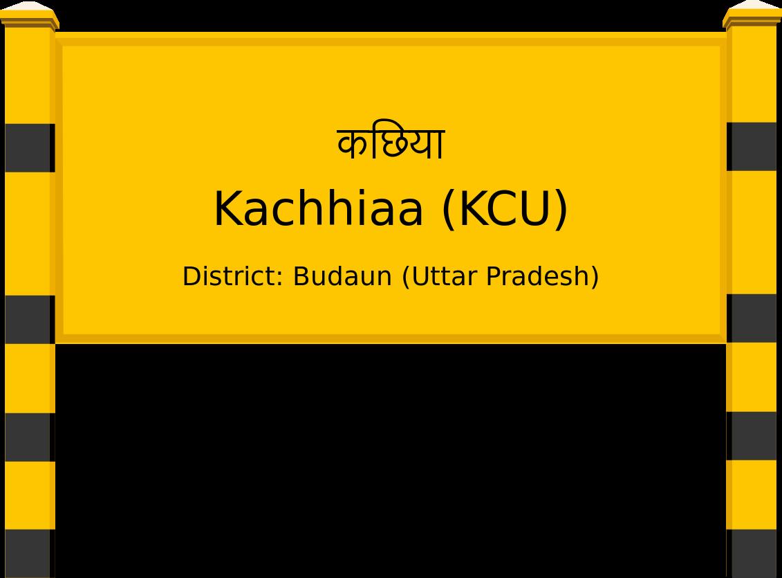Kachhiaa (KCU) Railway Station