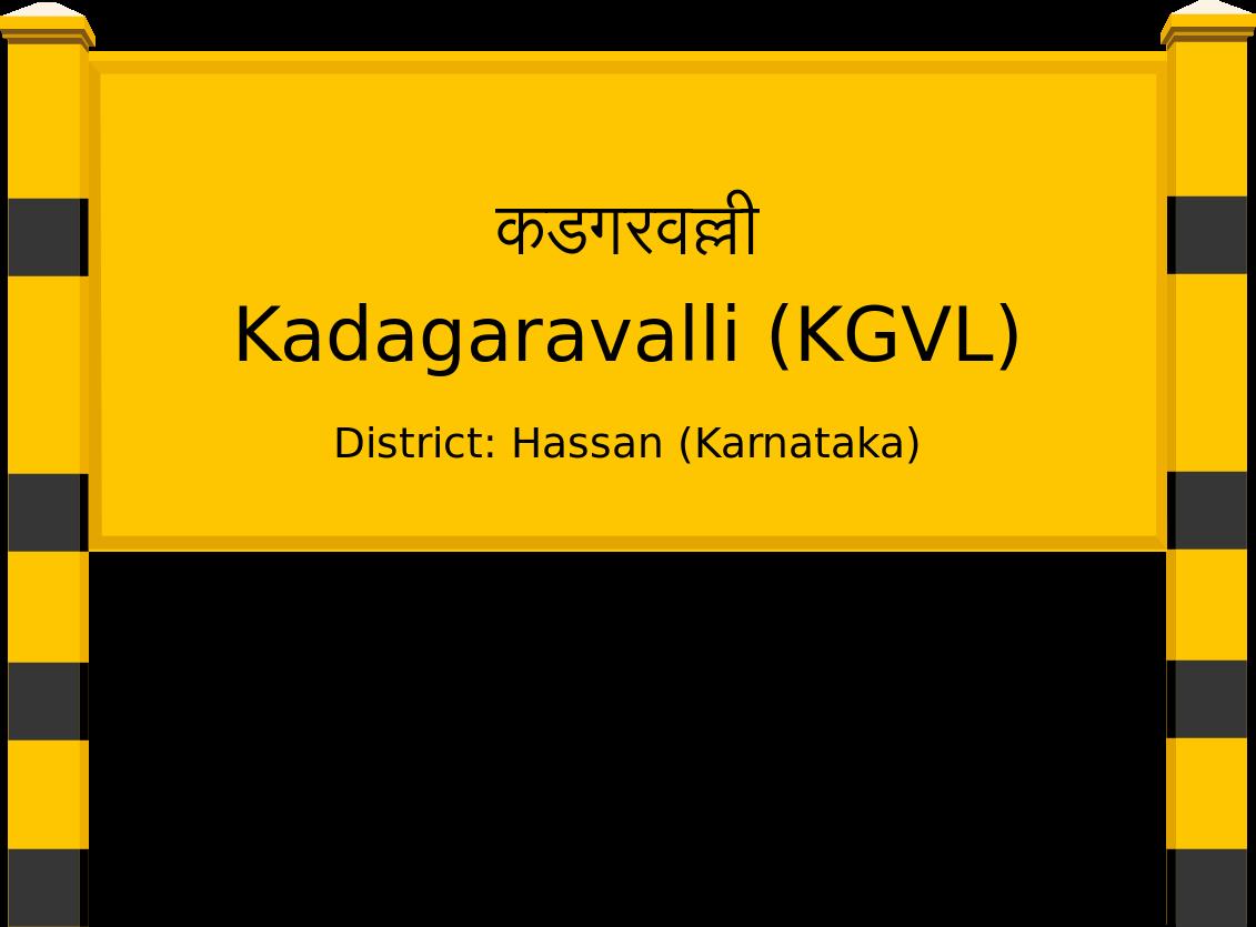 Kadagaravalli (KGVL) Railway Station