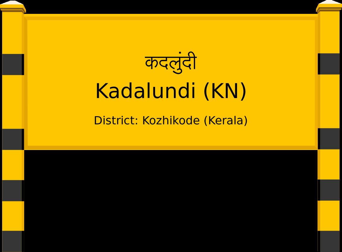 Kadalundi (KN) Railway Station