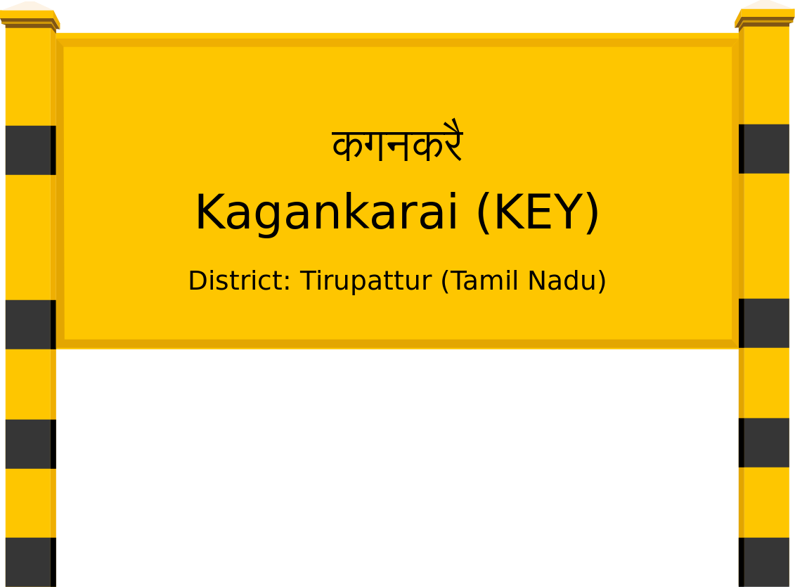 Kagankarai (KEY) Railway Station