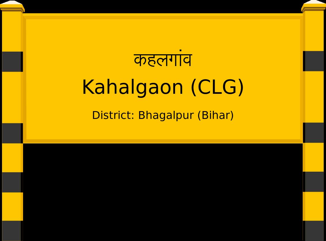 Kahalgaon (CLG) Railway Station