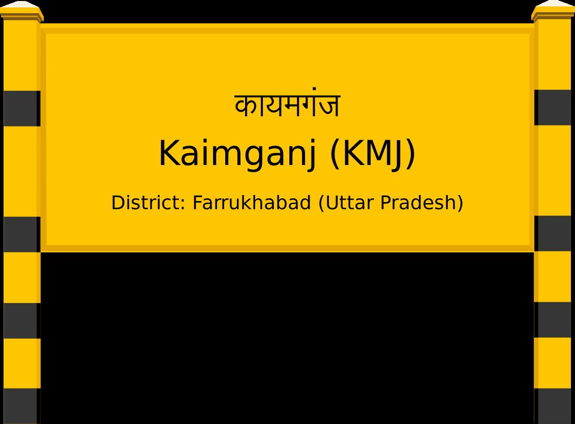 Kaimganj (KMJ) Railway Station