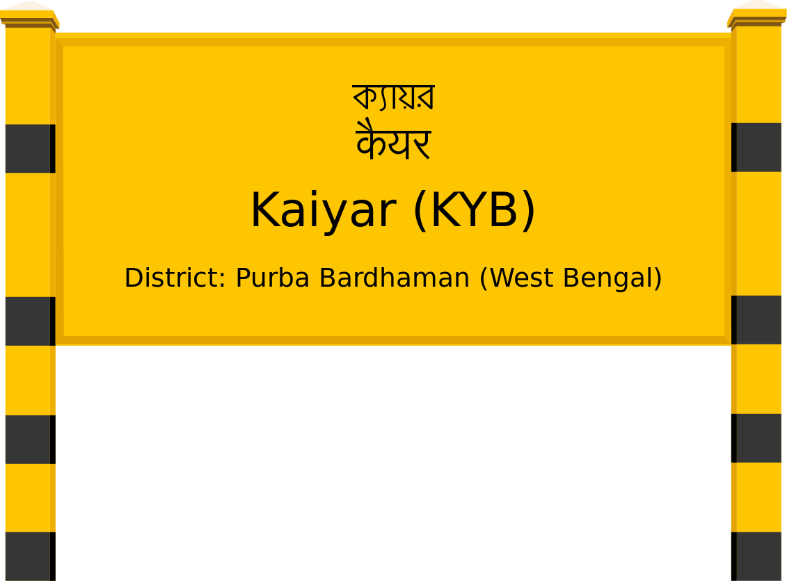Kaiyar (KYB) Railway Station