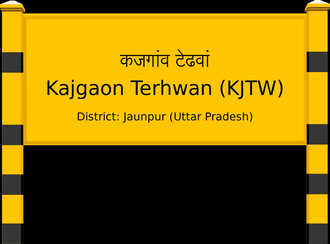 Kajgaon Terhwan (KJTW) Railway Station