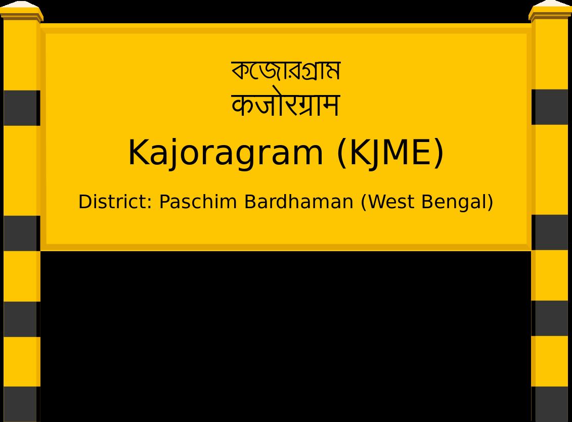 Kajoragram (KJME) Railway Station