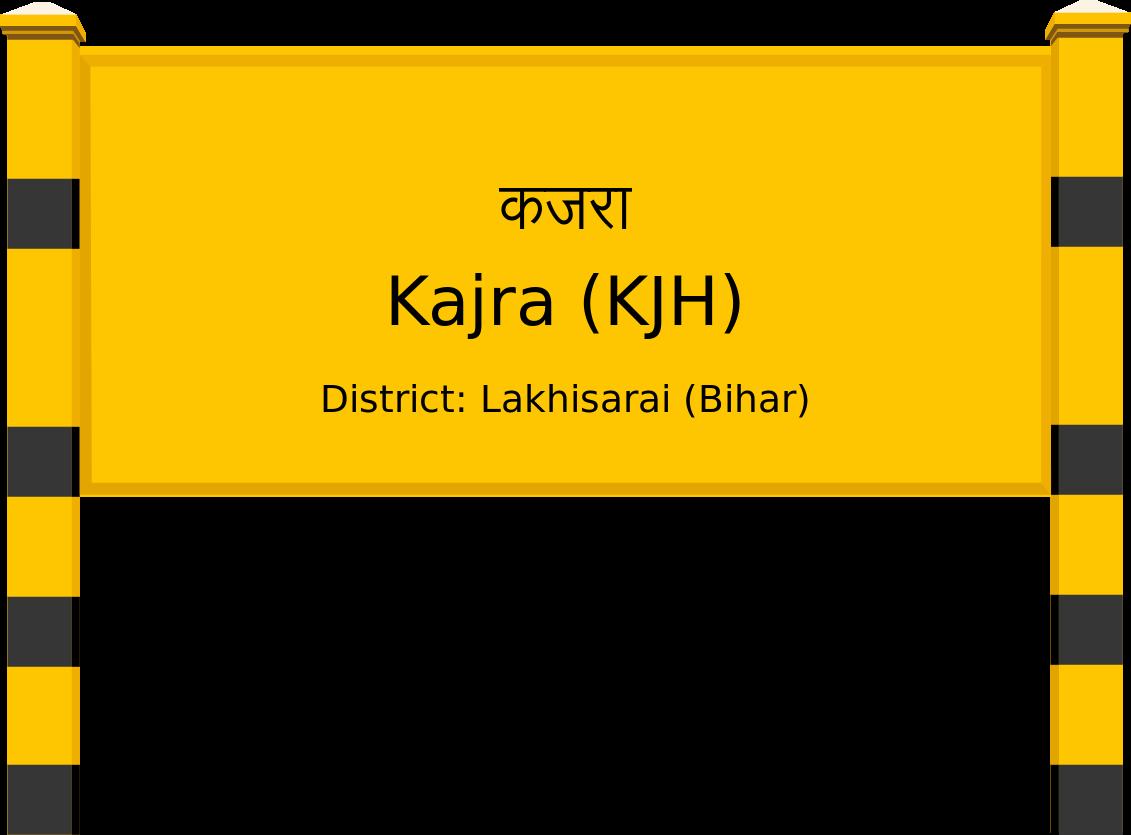 Kajra (KJH) Railway Station