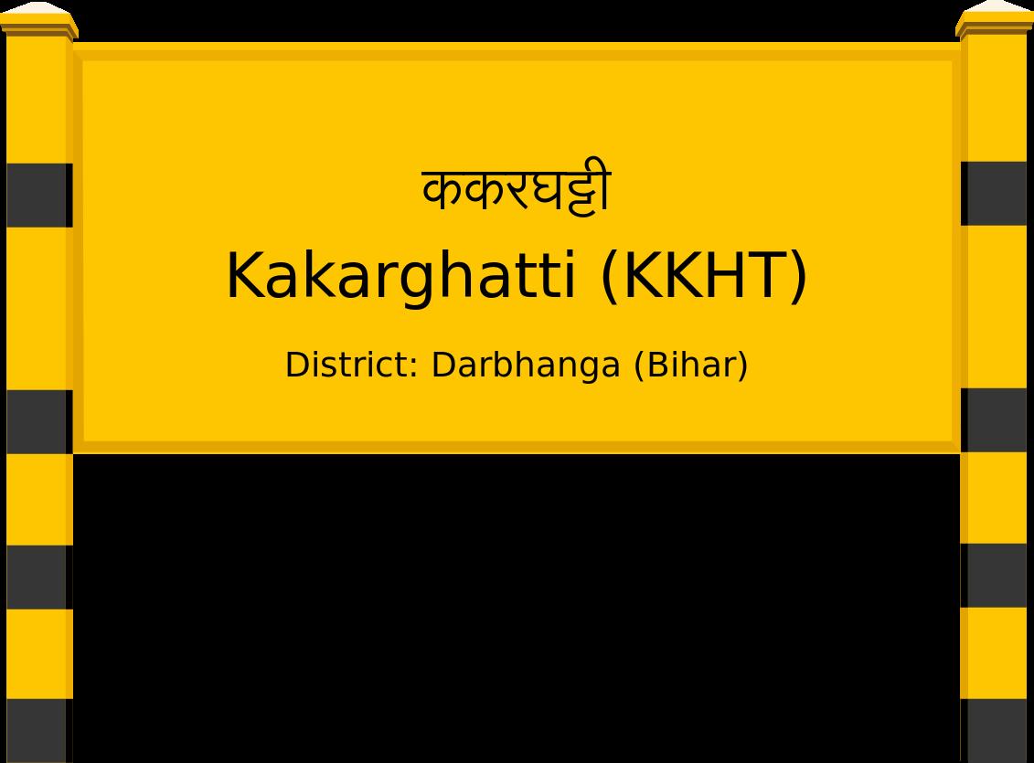Kakarghatti (KKHT) Railway Station