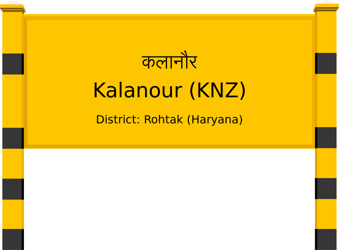 Kalanour (KNZ) Railway Station