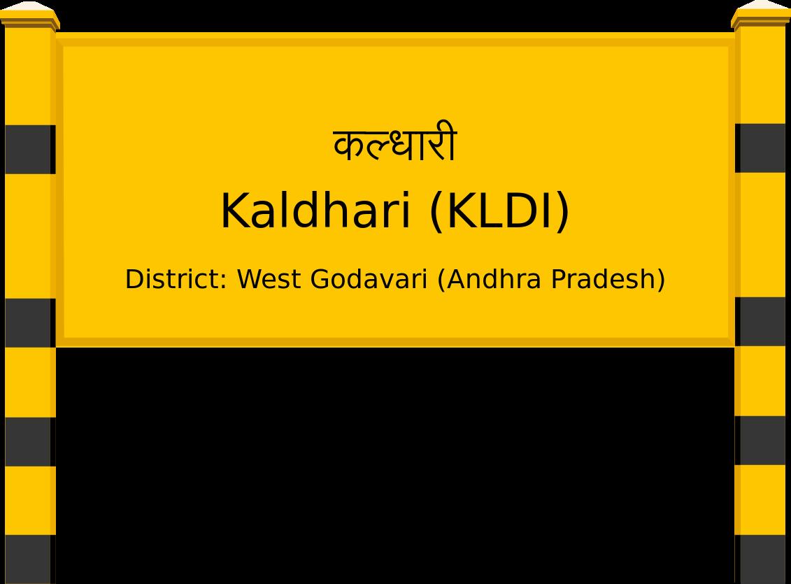 Kaldhari (KLDI) Railway Station