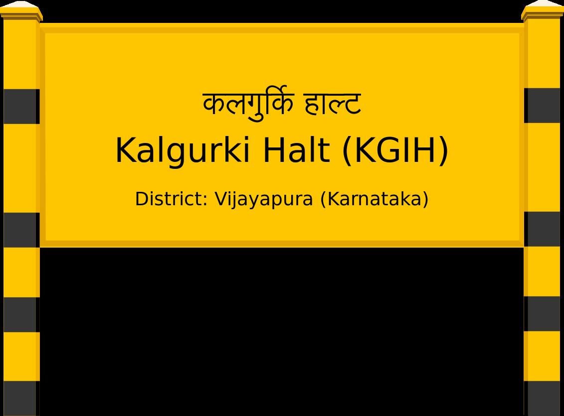 Kalgurki Halt (KGIH) Railway Station