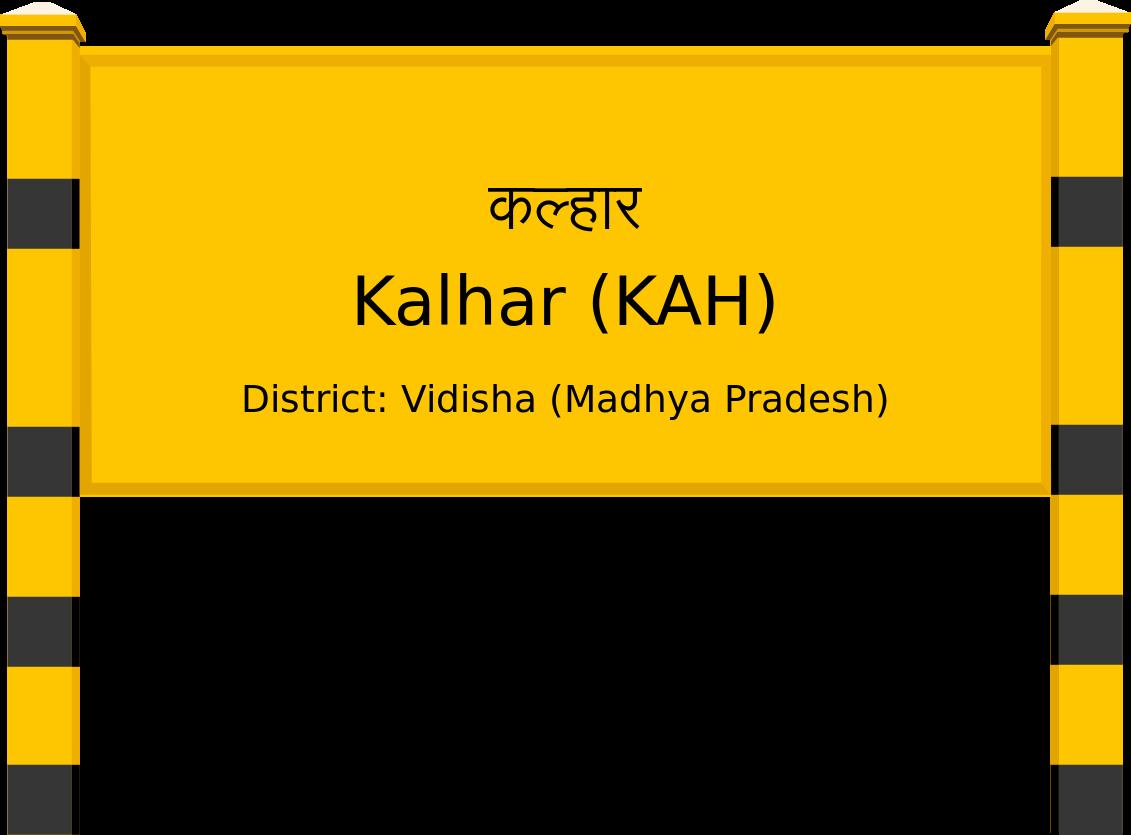 Kalhar (KAH) Railway Station