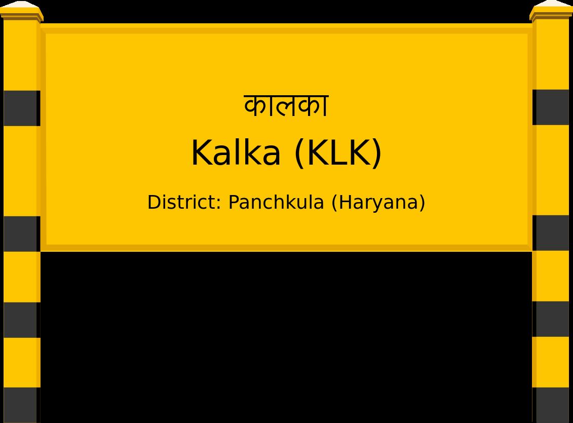 Kalka (KLK) Railway Station