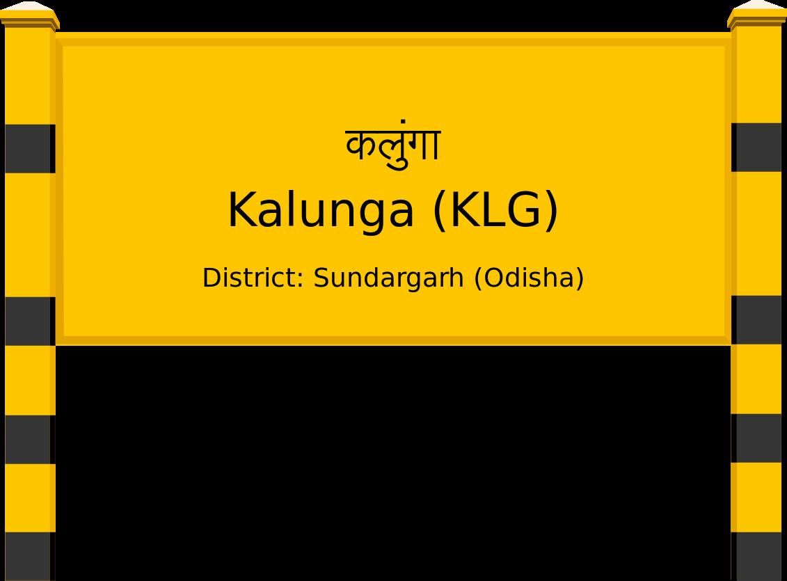 Kalunga (KLG) Railway Station