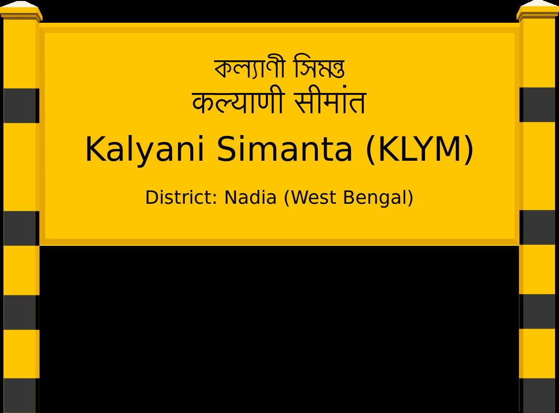 Kalyani Simanta (KLYM) Railway Station