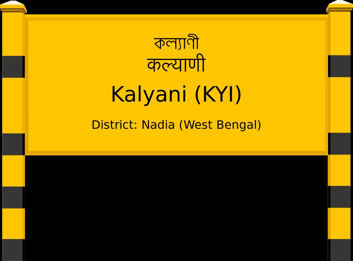 Kalyani (KYI) Railway Station