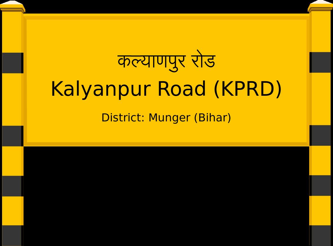 Kalyanpur Road (KPRD) Railway Station