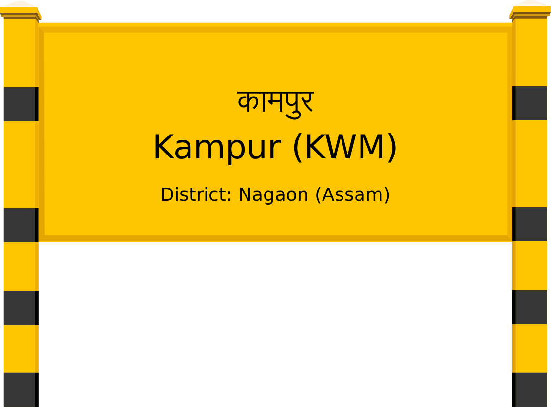 Kampur (KWM) Railway Station