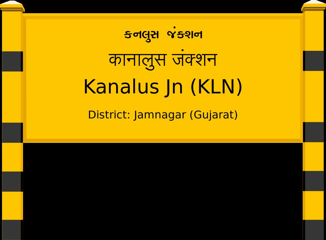 Kanalus Jn (KLN) Railway Station