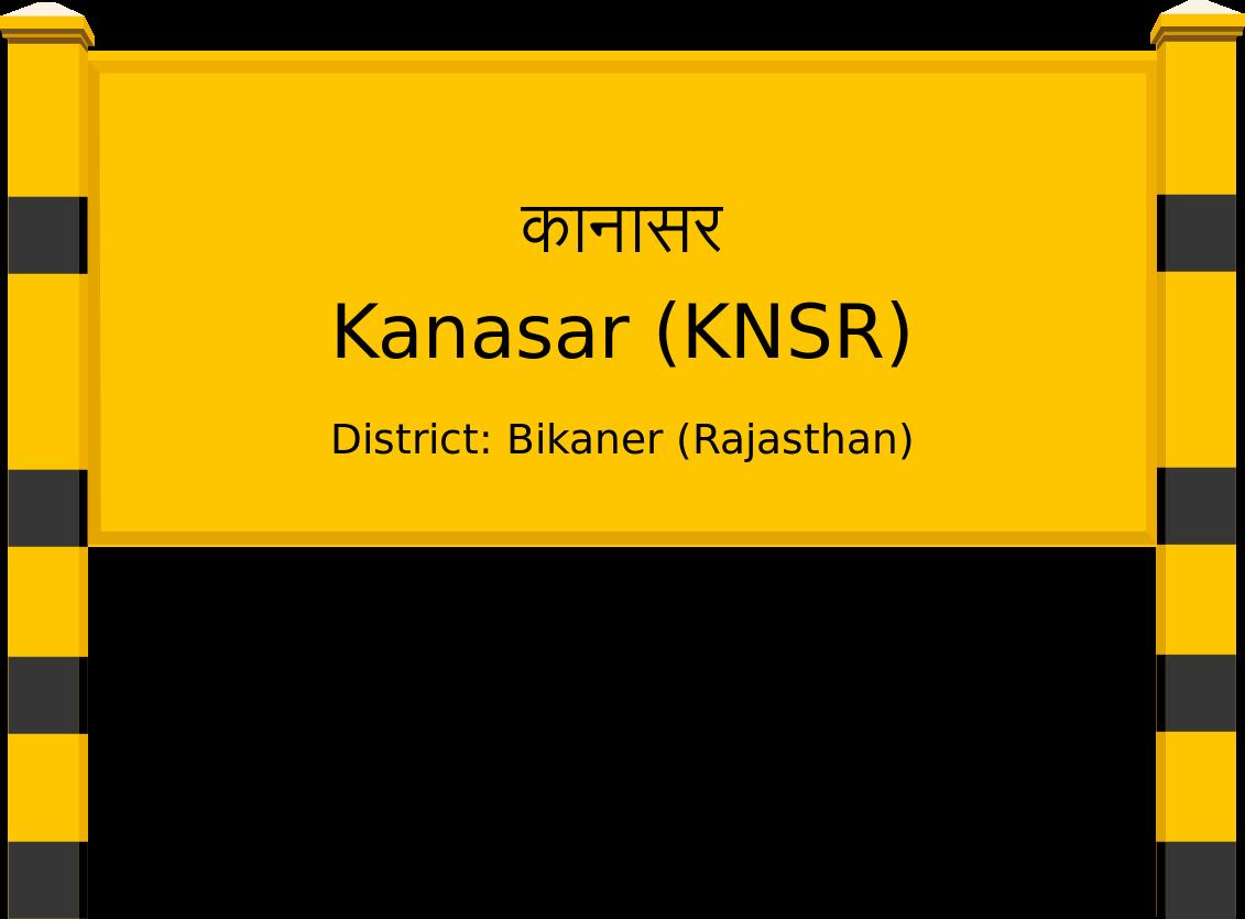Kanasar (KNSR) Railway Station