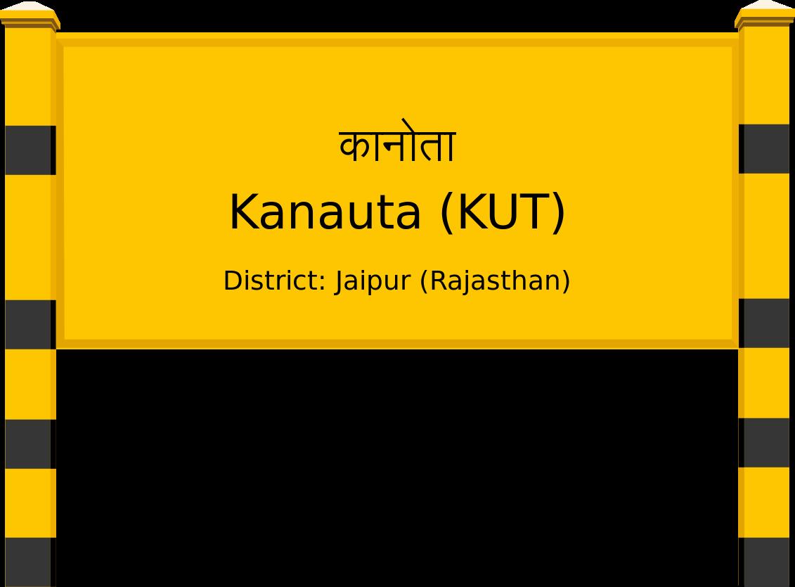 Kanauta (KUT) Railway Station