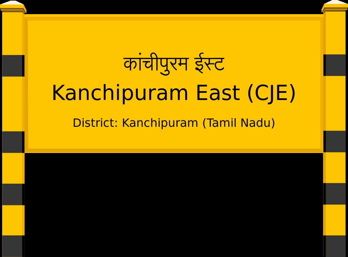 Kanchipuram East (CJE) Railway Station