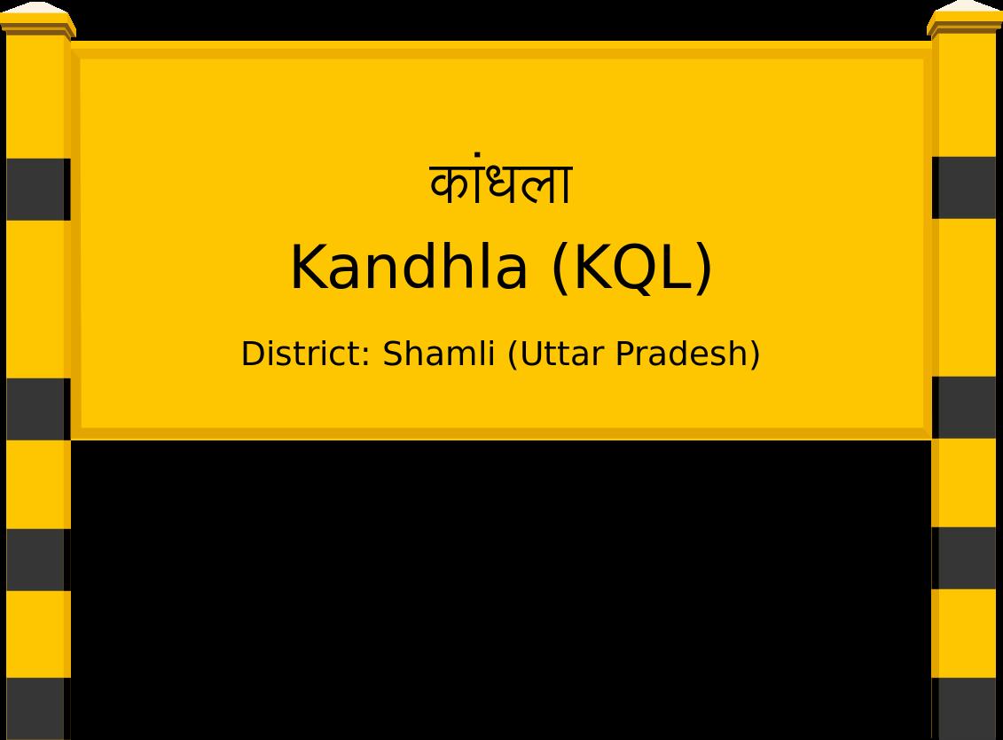 Kandhla (KQL) Railway Station