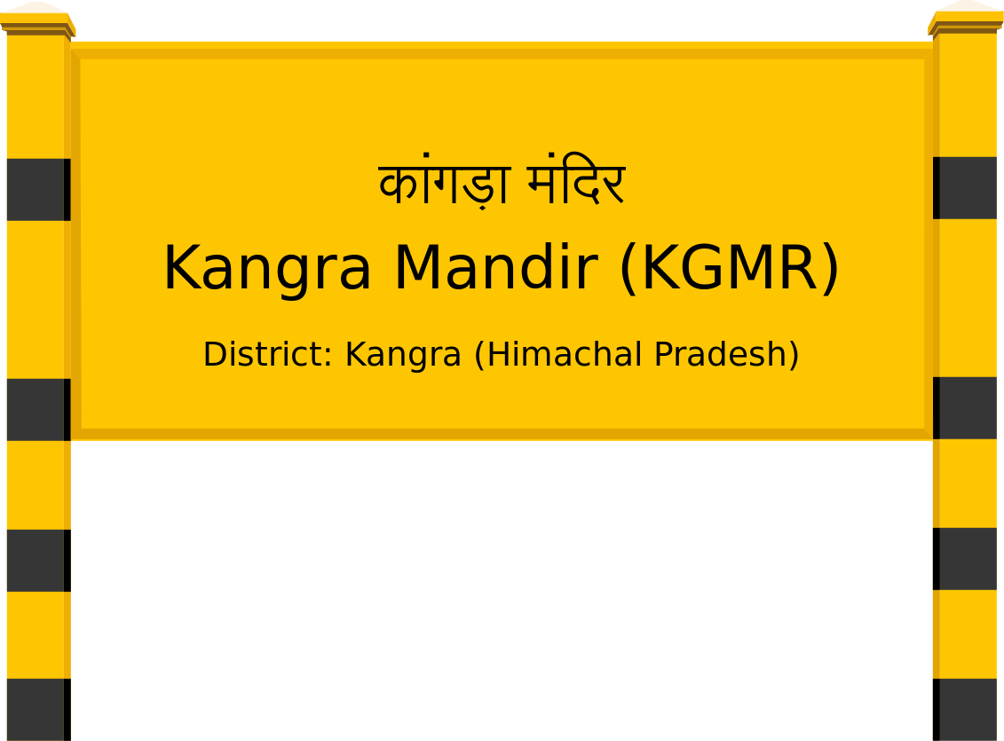Kangra Mandir (KGMR) Railway Station
