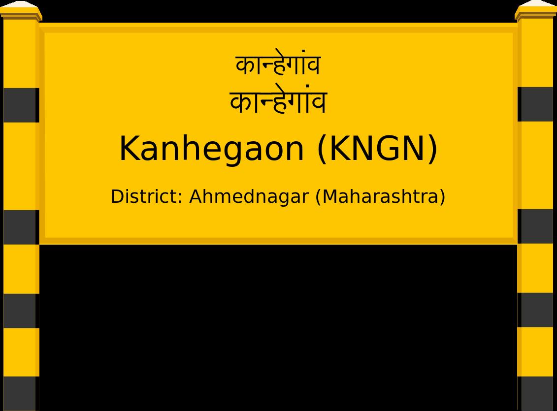 Kanhegaon (KNGN) Railway Station