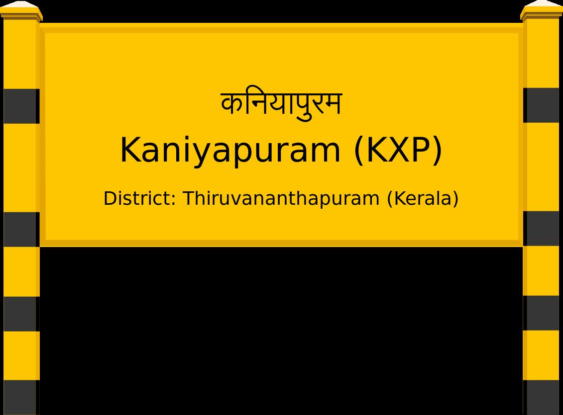 Kaniyapuram (KXP) Railway Station
